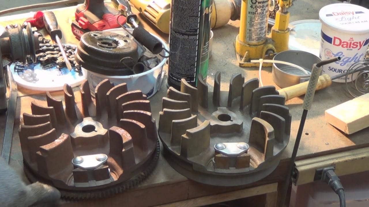 tecumseh engine wiring 8 hp to 10 hp    tecumseh     flywheel swap youtube  8 hp to 10 hp    tecumseh     flywheel swap youtube