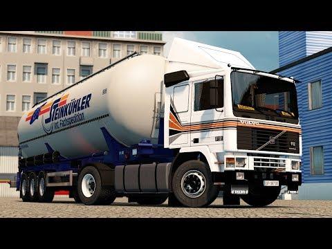 ETS 2 1.27 ProMods 2.16 Volvo F12 Basel - Reims