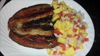 Fried Daing na Bangus (Deboned Milkfish)