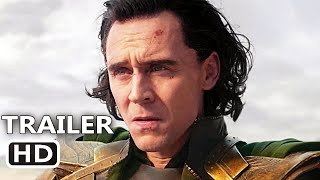LOKI Trailer 2 (2021) Tom Hiddleston, Owen Wilson, Marvel Series