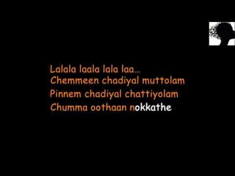 Entammede Jimikki Kammal Karaoke with Lyrics Sing along lyrics   Velipadinte Pushtakam   Mohanlal  