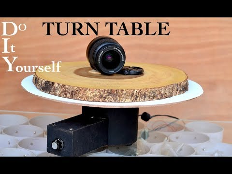 DIY Object Rotating Table
