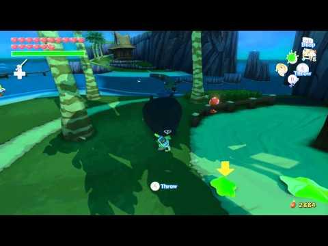 The Legend of Zelda Wind Waker HD Walkthrough 100% Part 23: Fire Mountain & Headstone Island