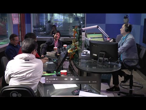 Sen. Bongbong Marcos - Interview at DZRH for the program Executive Session