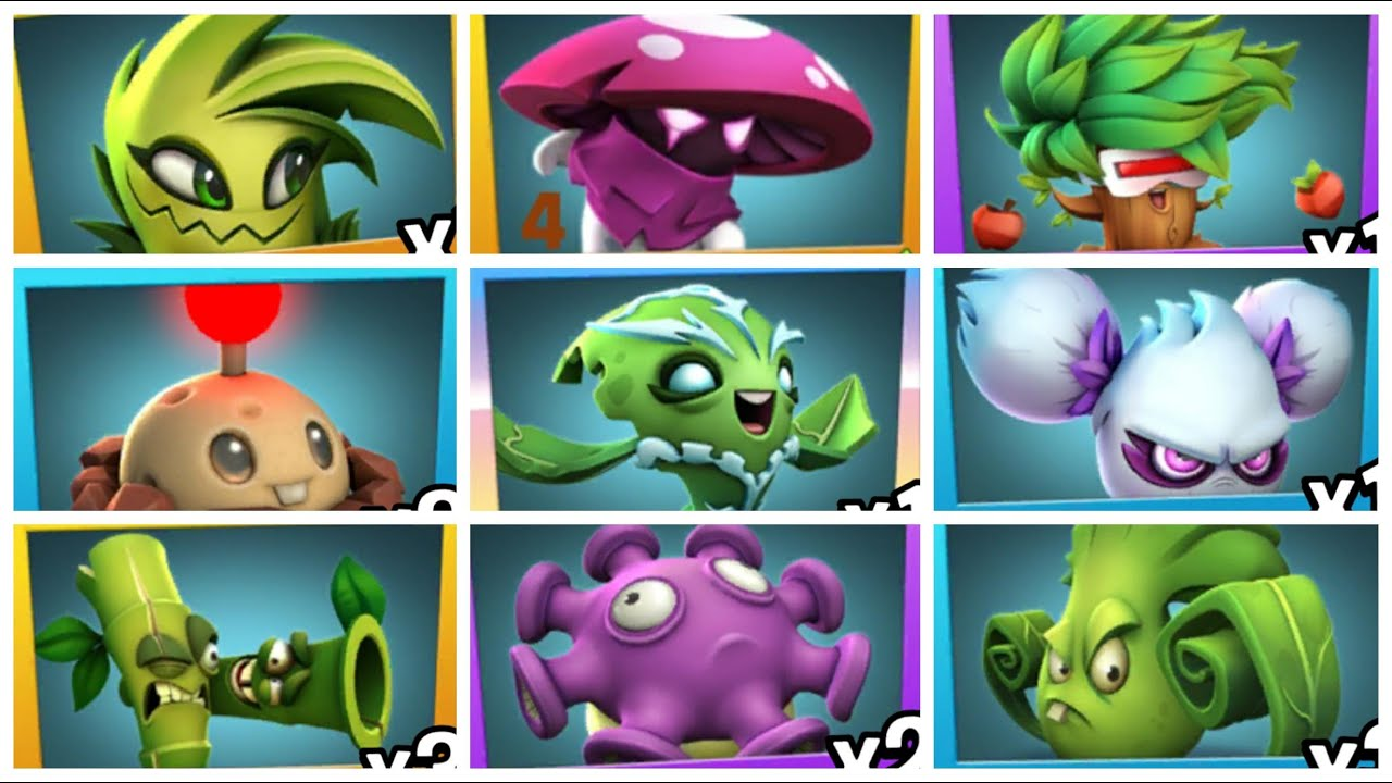 Plants Vs Zombies 3: All Plant Food Effect & All Tacobility Gameplay - YouTube