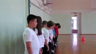 Урок физкультуры в Школе №32