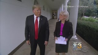 Trump Discusses Russia Investigation In '60 Minutes' Interview