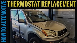 How to Replace the Thermostat on a 2001 Toyota Rav4