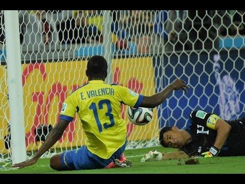 Ecuador vs Honduras 2014 FIFA World Cup Results
