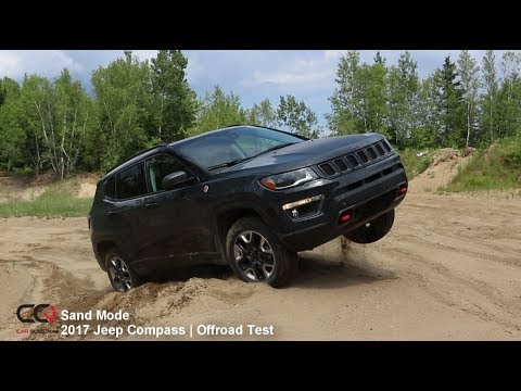 4x4 Sand Offroad Test 2017 Jeep Compass Trailhawk   Review: Part 9/10