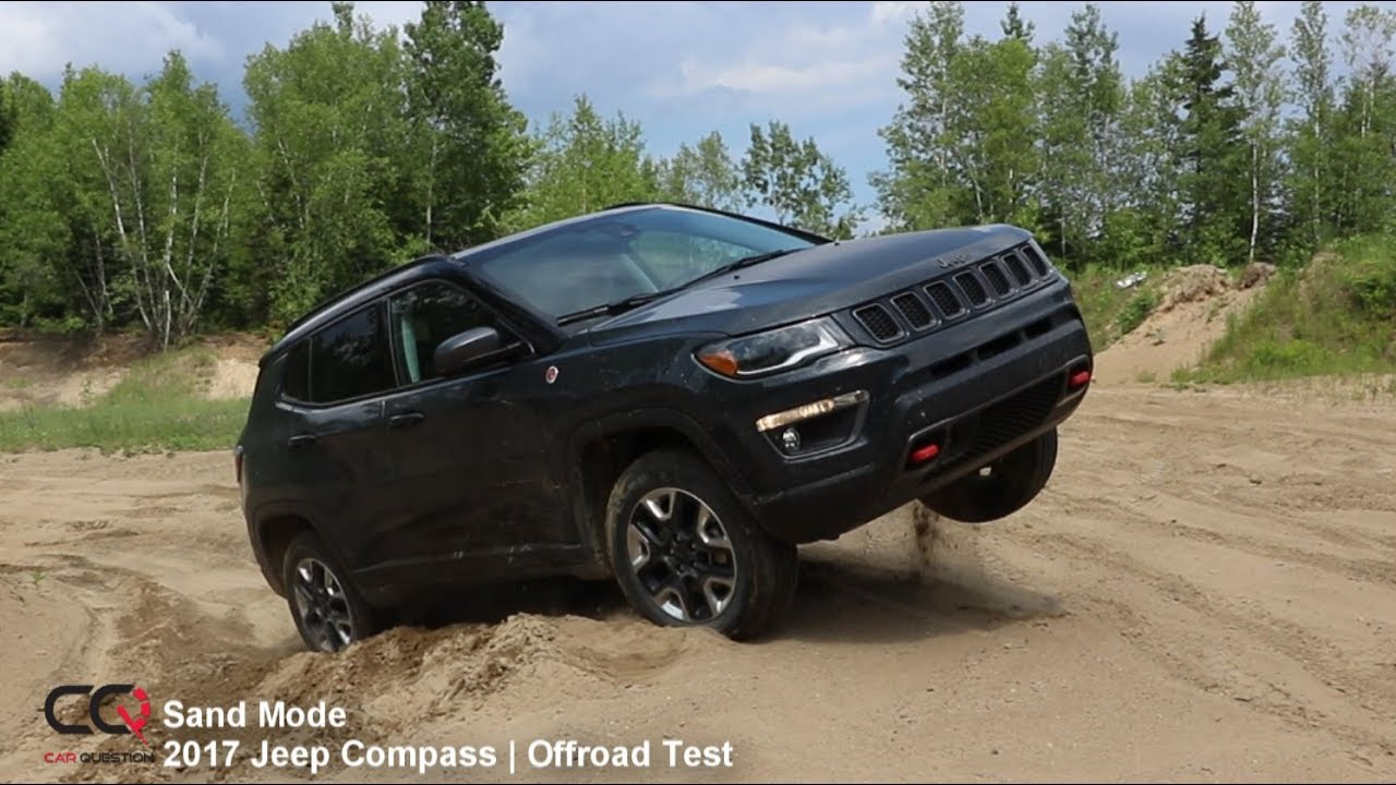 4x4 Sand Offroad Test 2017-2019 Jeep Compass Trailhawk ...