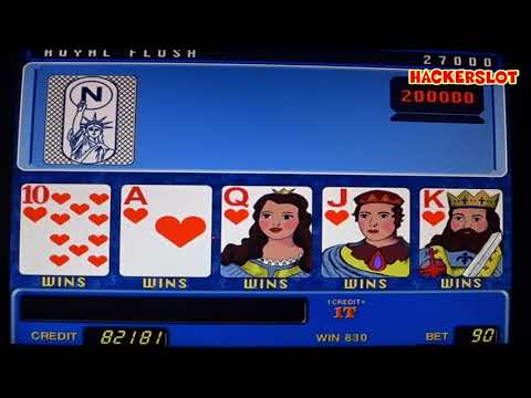 Игровой автомат Американский Покер - выиграл миллион