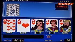 постер к видео Игровой автомат Американский Покер - выиграл миллион