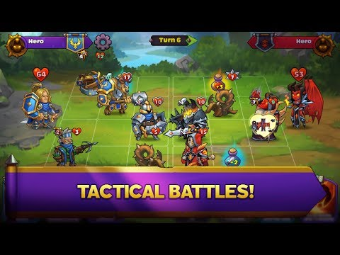 Heroes Of Magic: Card Battle RPG Android Gameplay