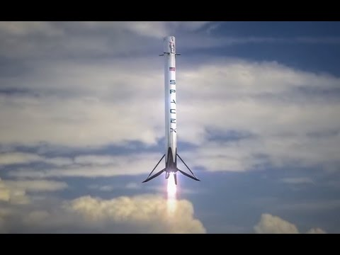SpaceX Falcon 9 Landing Historic Moment