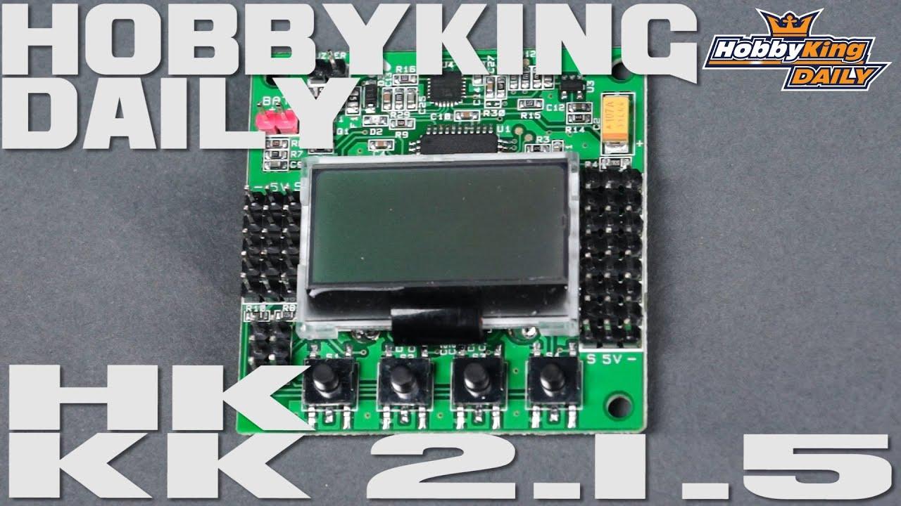 hobbyking daily kk 2 1 5 youtube rh youtube com quadcopter esc wiring diagrams 4 in1 [ 1280 x 720 Pixel ]