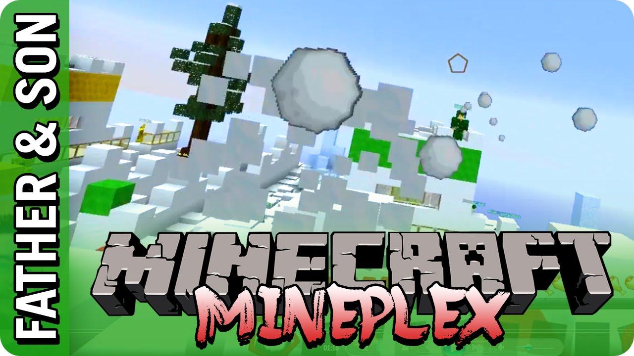 Minecraft Mineplex - Snowball Fight - YouTube