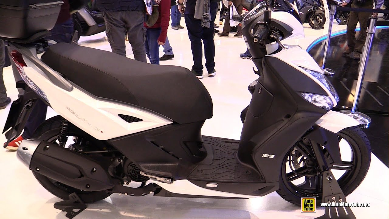 2016 kymco agility 16 125 walkaround 2015 eicma milan. Black Bedroom Furniture Sets. Home Design Ideas