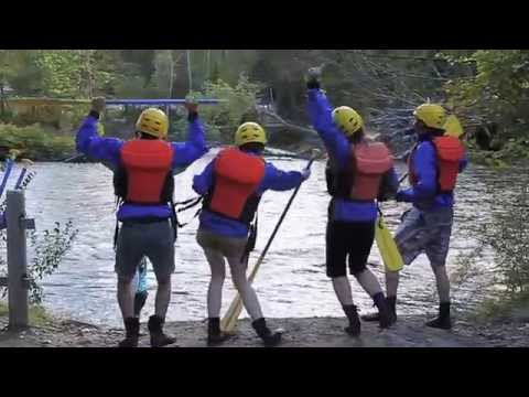 Outdoor adventures in Massachusetts, USA: Zip lining and white water rafting
