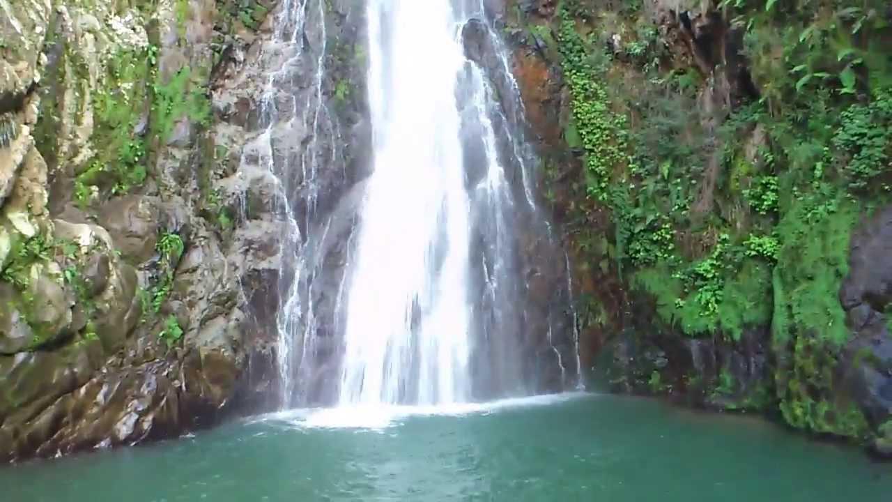 Israel Baez En El Salto De Las Aguas Blancas Constanza Youtube