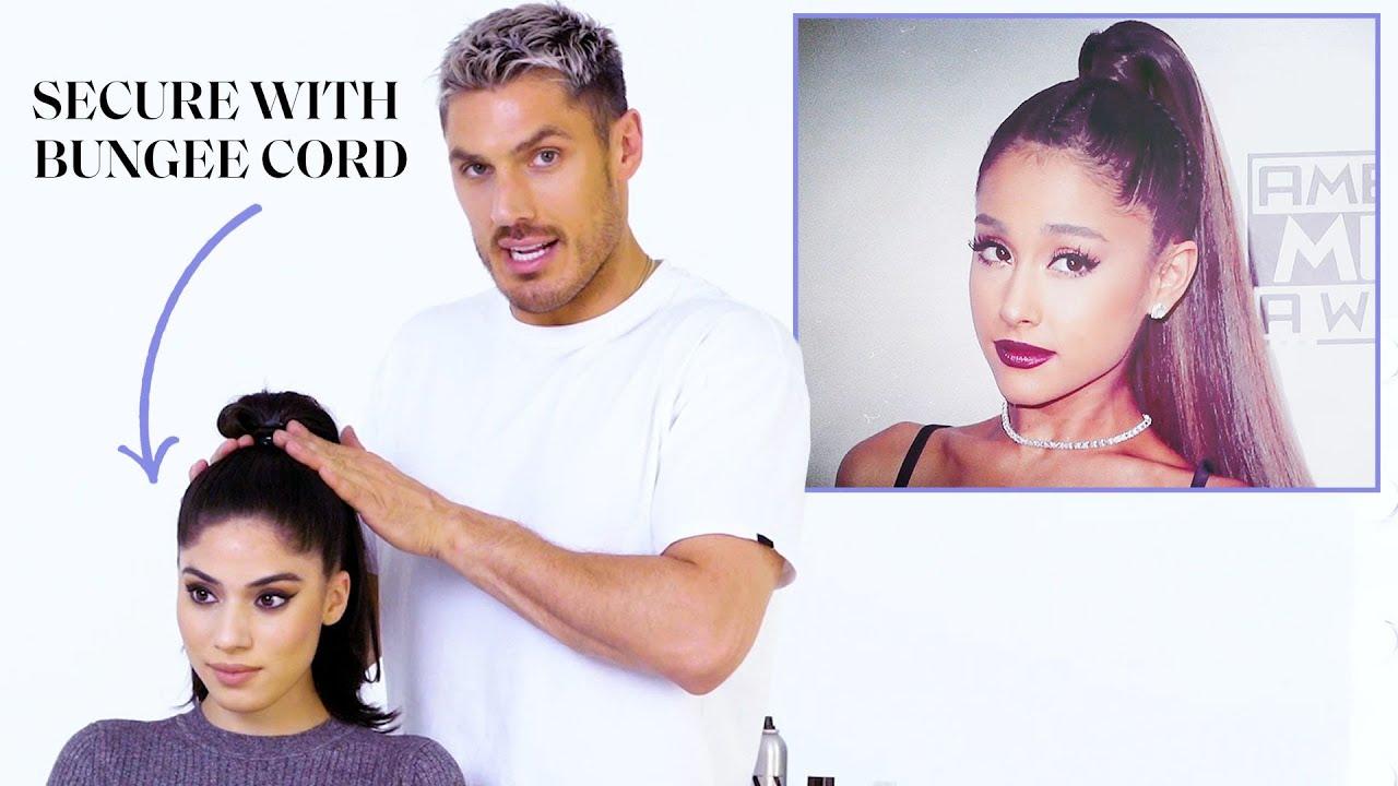Chris Appleton's Ponytail Masterclass: Ariana Grandé, Kim Kardashian, and Jennifer Lopez | Glamour