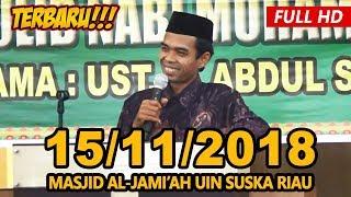 Video Ceramah Terbaru Ustadz Abdul Somad Lc, MA - Masjid Al-Jami'ah UIN Suska Riau download MP3, 3GP, MP4, WEBM, AVI, FLV November 2018