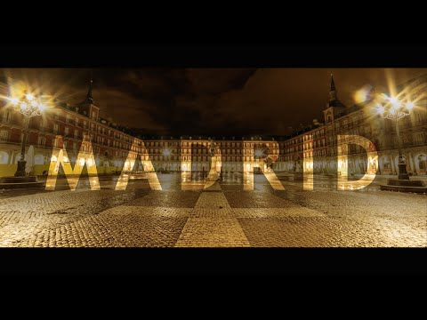 Travel Madrid in a Minute - Aerial Drone Video | Expedia
