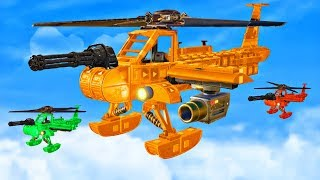 who has the best helicopter challenge? trailmakers