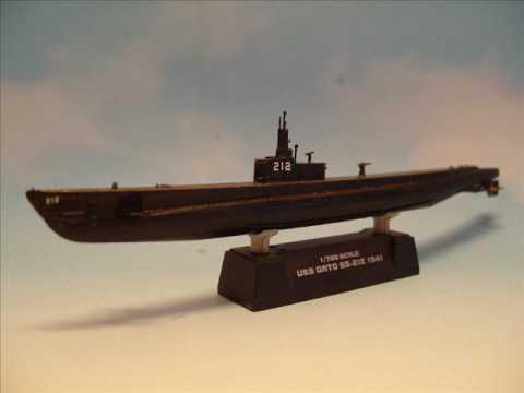 HobbyBoss 1/700 USS Gato SS 212 Submarine