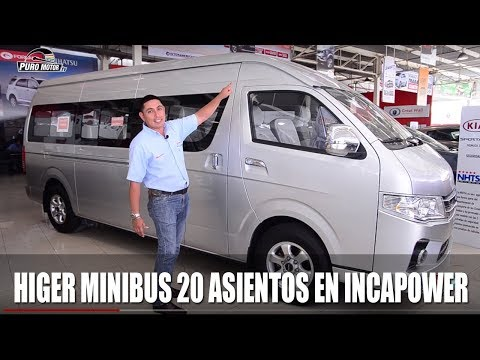 HIGER MINIBUS 20 ASIENTOS INCAPOWER PUROMOTORTV.pe