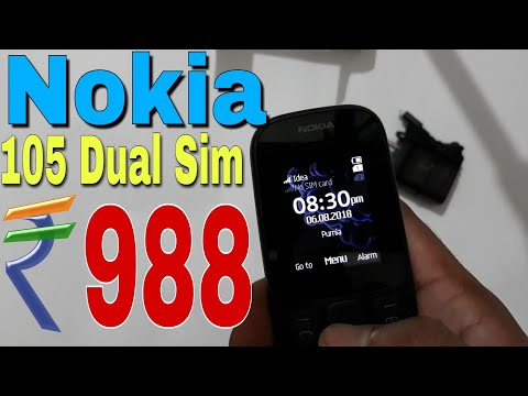 Nokia 105 dual sim unboxing and review