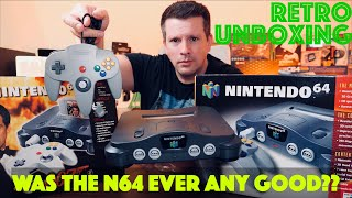 As New N64 Unboxing In 2021 | Nintendo's Worst Console??  *Part 1*
