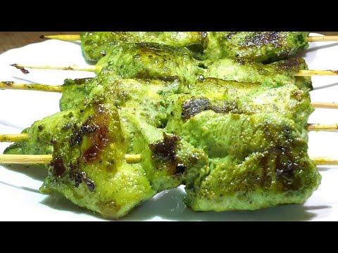 green-chicken-tikka-recipe-l-easy-and-tasty-starter-recipe-l-chicken-recipes