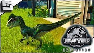 Jurassic World Evolution! Deinonychus! Cartoon Raptor?