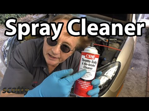 Make Your Car Run Better with a Little Spray Cleaner - YouTube