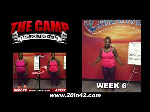 Arlington TX Weight Loss Fitness 6 Week Challenge Results - Carmen Perry
