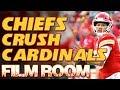 Patrick Mahomes, Hill & Houston Crush Cardinals - Film Room | Kansas City Chiefs NFL highlights