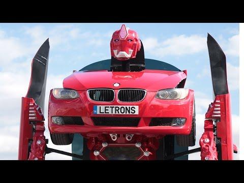 Türk Yapımı Transformer Letrons İncelemesi (BMW'den Robot Yapmışlar!)