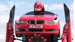 Türk Yapımı Transformer Letrons İncelemesi (BMW