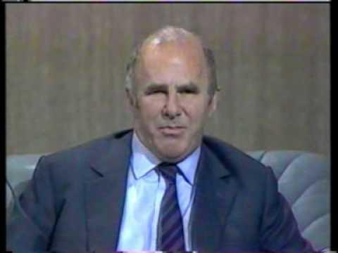 Clive James interview 1987 2/4 Peter Cook