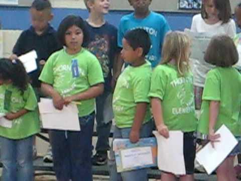 SARAI AWARDS AT THORNTON ELEMENTARY SCHOOL 002