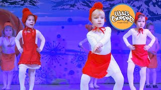 """Детский танец """"ЛАДУШКИ-ОЛАДУШКИ"""" - ритмика на Новогоднем концерте студия танцев """"ШАГ ВПЕРЕД"""""""