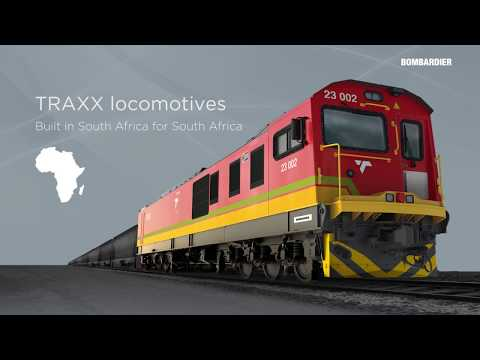 TRAXX Africa – built in South Africa for South Africa