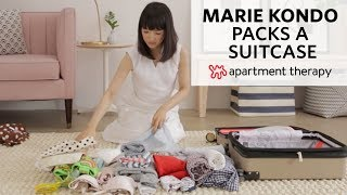 How To Pack A Suitcase With Marie Kondo | Apartment Therapy