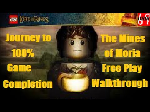 LEGO Lord Of The Rings The Mines Of Moria Free Play Walkthrough (All Collectibles)
