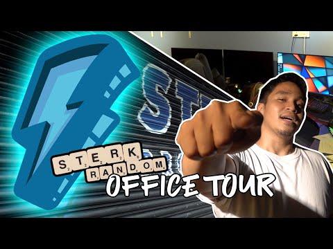 STERK RANDOM OFFICE TOUR| Sterk Production