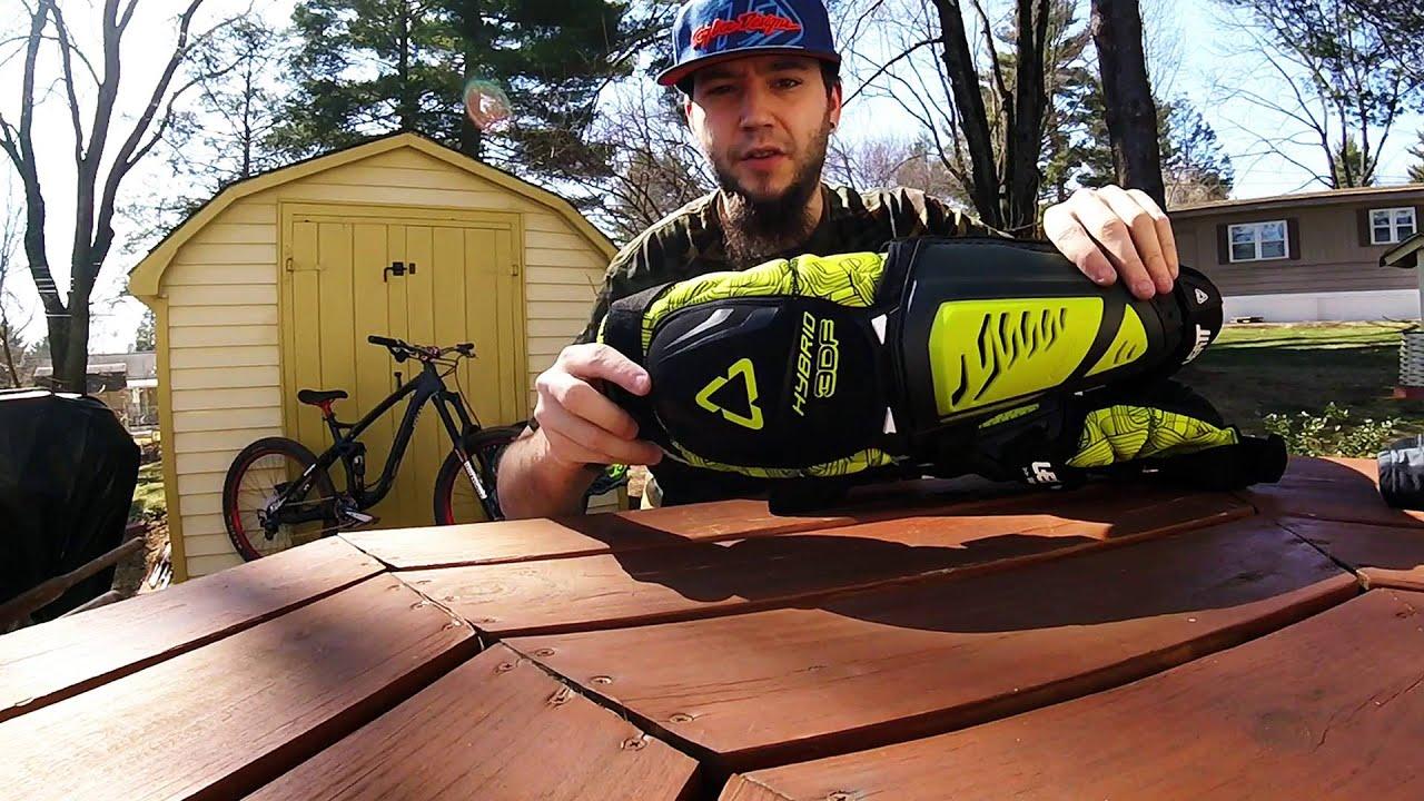 Leatt Knee Shin Guard 3df Hybrid Ext Mountain Bike Gear Review