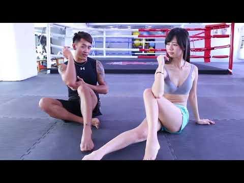 【衝撃】台湾の筋トレ動画に登場する美女が性的&魅力的すぎる!!!