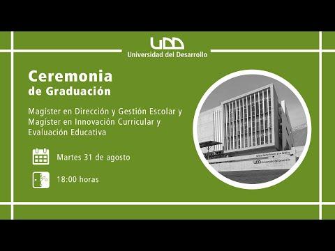 Ceremonia de Graduación | Magíster en Dirección y Gestión Escolar  | Sede Santiago