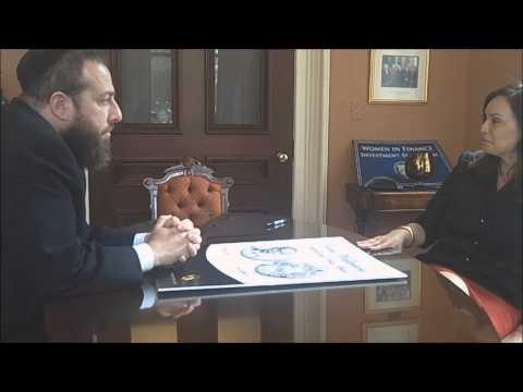 Ezra Friedlander Meets US Treasurer Rosie Rios Regarding Wallenberg Medal